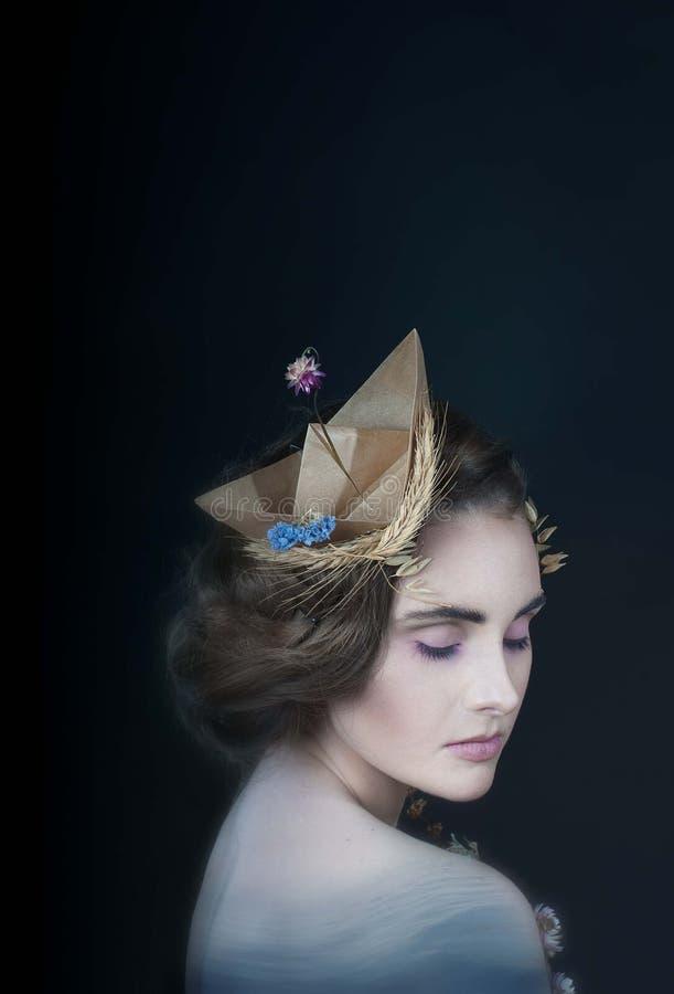 Sirène photo stock