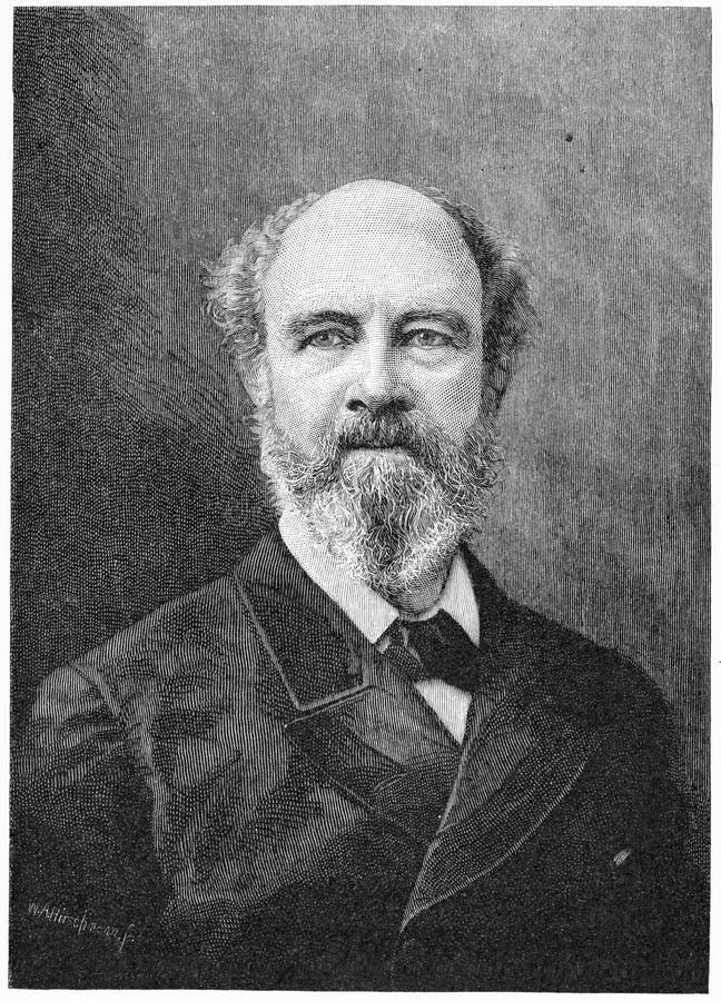 Sir Anthony Musgrave Administrador colonial británico fotos de archivo