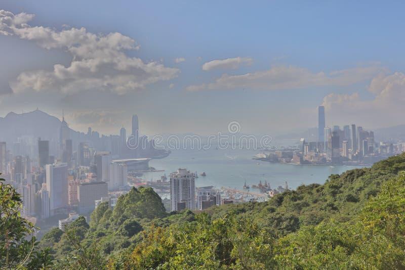 Sir Cecil przejażdżki widok Hong kong zdjęcie stock