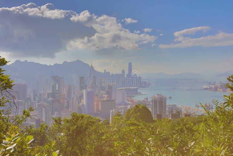 Sir Cecil przejażdżki widok Hong kong zdjęcia stock