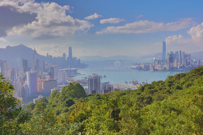 Sir Cecil przejażdżki widok Hong kong zdjęcia royalty free