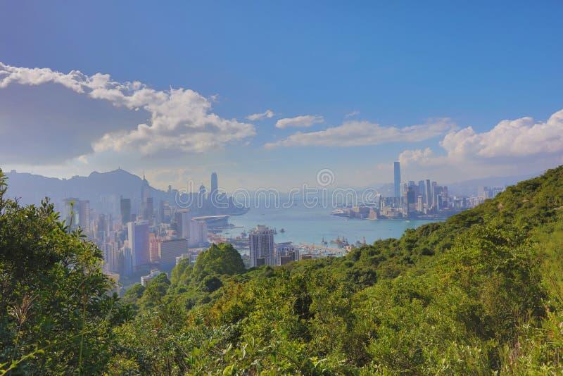 Sir Cecil przejażdżki widok Hong kong fotografia royalty free