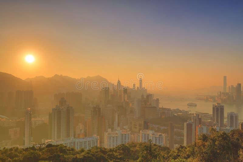 Sir Cecils przejażdżka, widok HK obraz stock