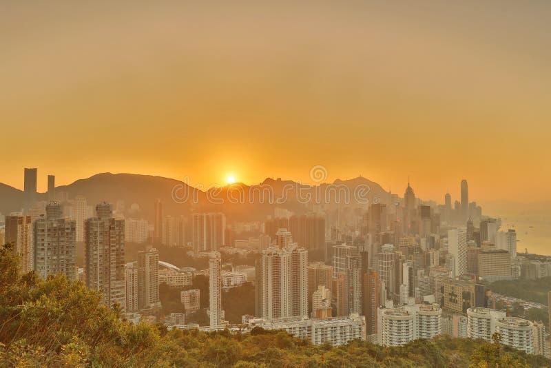 Sir Cecils przejażdżka, widok HK fotografia royalty free
