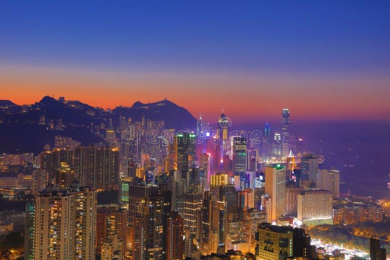 Sir Cecils przejażdżka, widok HK obrazy royalty free