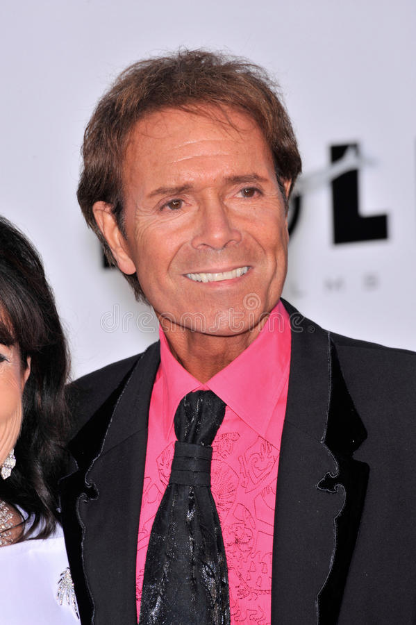 Sir Cliff Richard fotografia stock