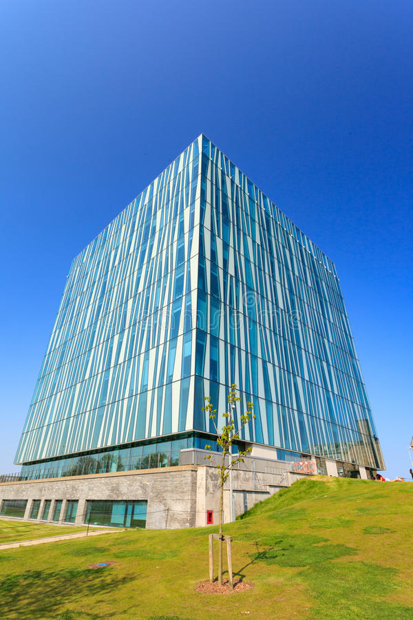 Sir Duncan Rice Biblioteka uniwersytet Aberdeen zdjęcie stock