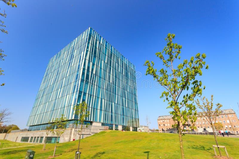 Sir Duncan Rice Biblioteka uniwersytet Aberdeen fotografia stock