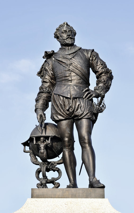 Sir Francis Drake fotografie stock