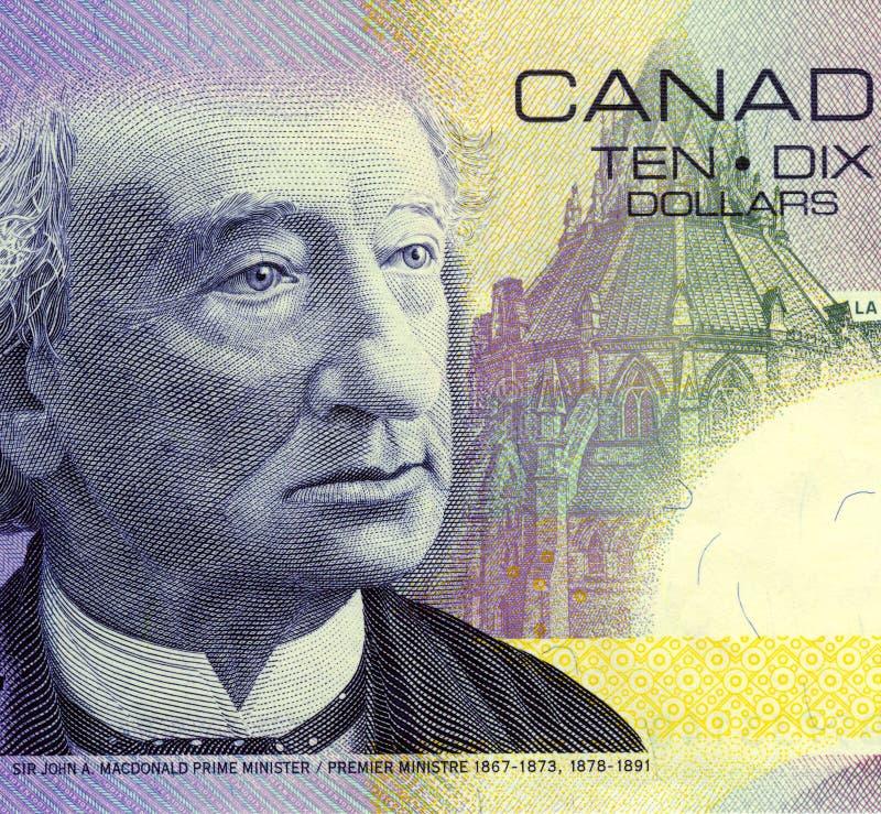 Sir John un MacDonald photo libre de droits