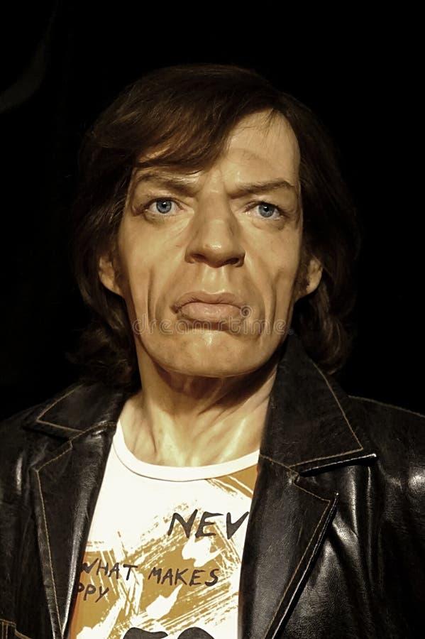 Sir Michael Philip ` Mick ` Jagger stock afbeeldingen