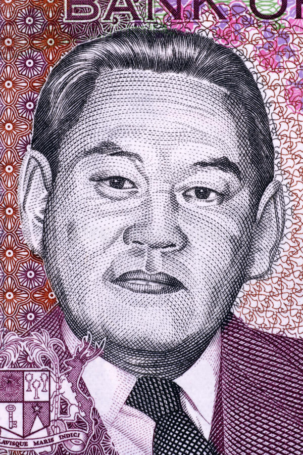 Sir Moilin Jean Ah-Chuen Editorial Stock Photo