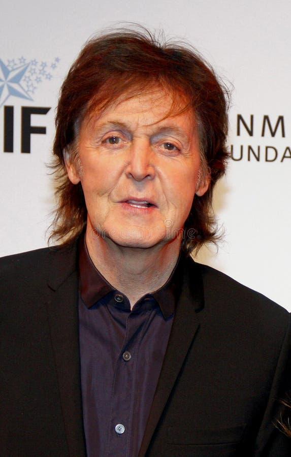 Sir Paul McCartney fotografia stock
