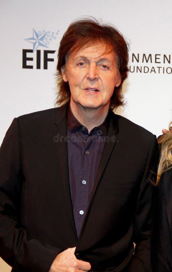 Sir Paul McCartney fotografie stock libere da diritti