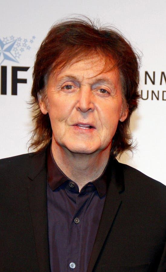 Sir Paul McCartney immagini stock