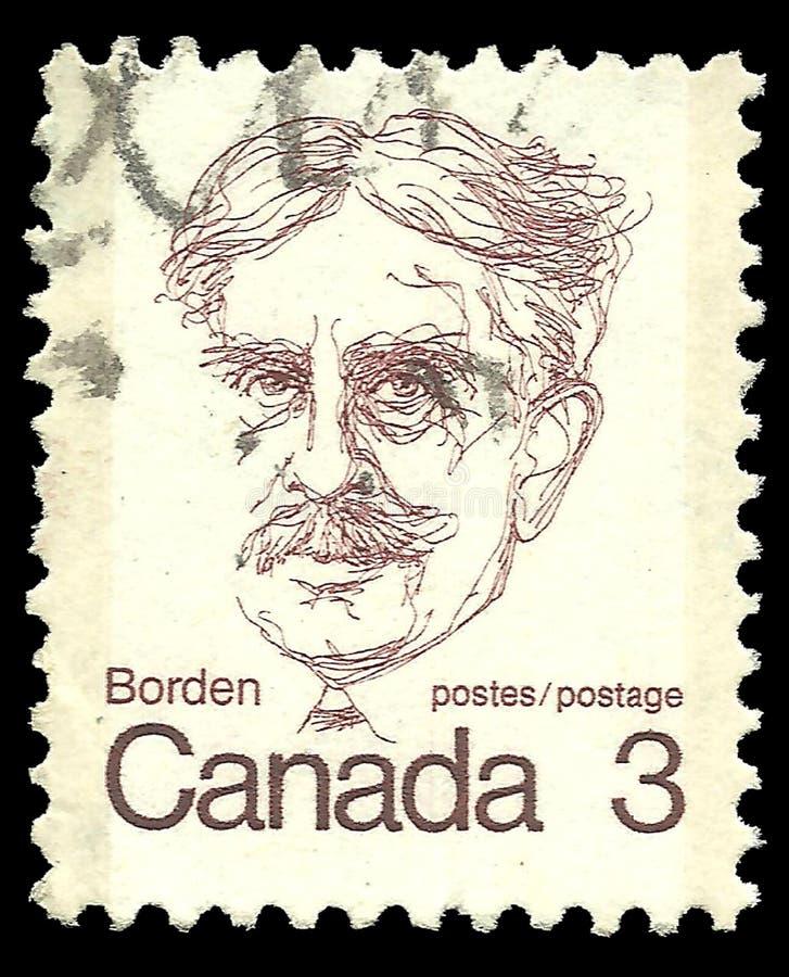 Sir Robert Borden image libre de droits