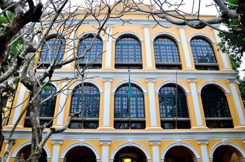 Sir Robert Ho Tung Library royaltyfri foto