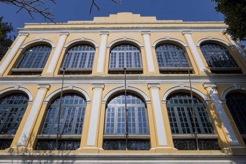 Sir Robert Ho Tung Library royaltyfria foton