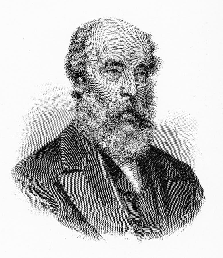 Sir Robert Richard Torrens ilustração stock
