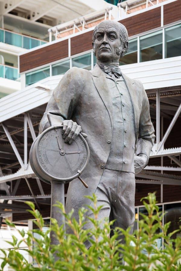 Sir Samuel Cunard Statue stock fotografie