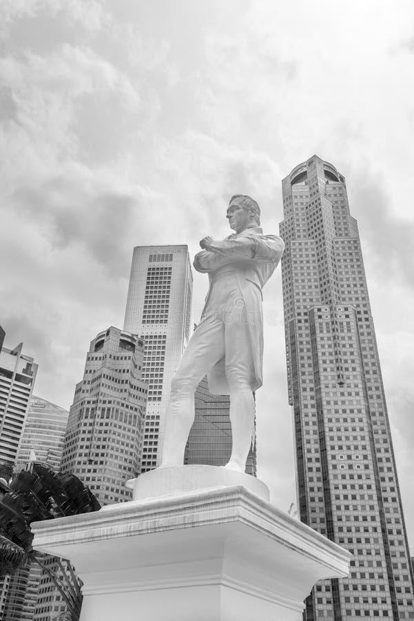 Sir Tomas Stamford Raffles obrazy royalty free