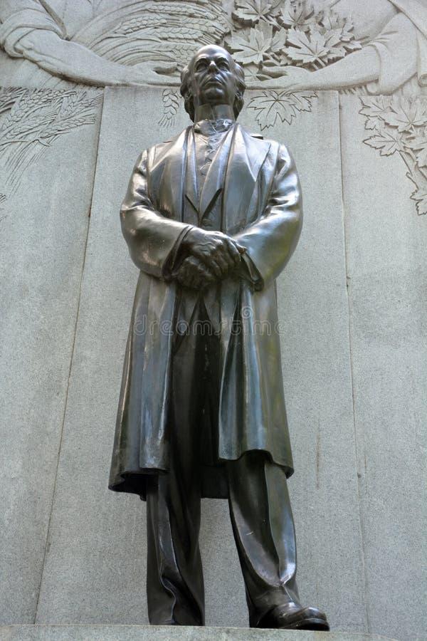 Sir Wilfrid Laurier Memorial royalty-vrije stock afbeeldingen