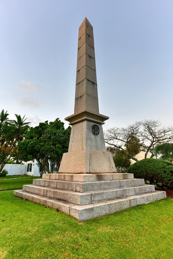 Sir William Reid Obelisk photo libre de droits