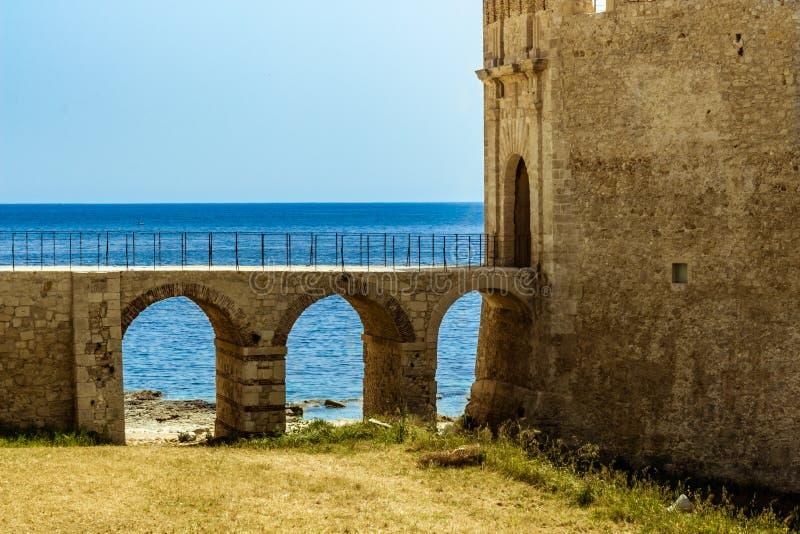 Siracusa em Sicília fotos de stock royalty free
