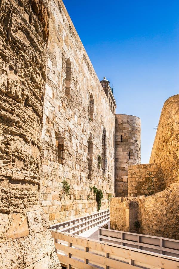 Siracusa forteca obrazy royalty free