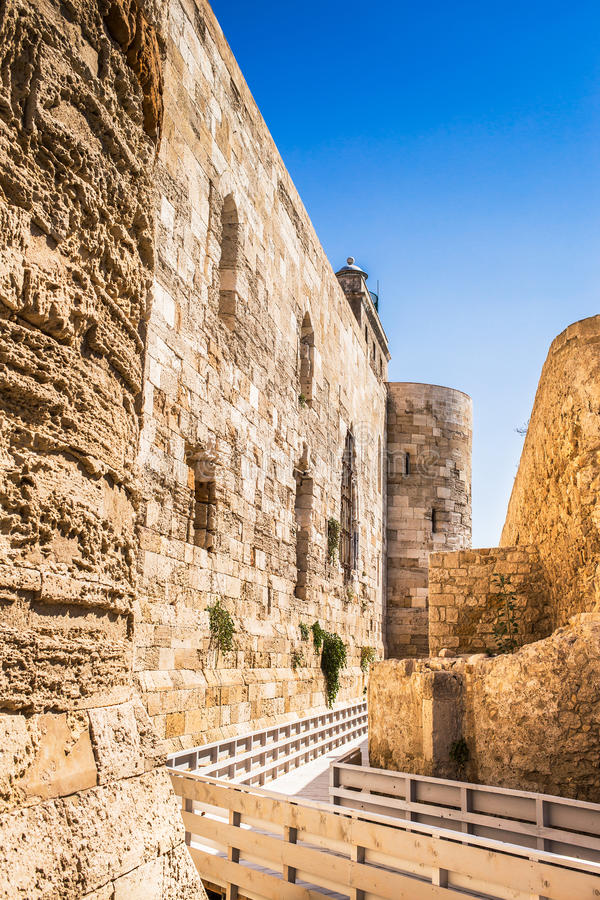 Siracusa fortress royalty free stock images