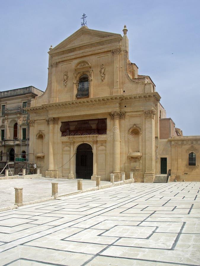 Siracusa - Kathedrale stockfotos