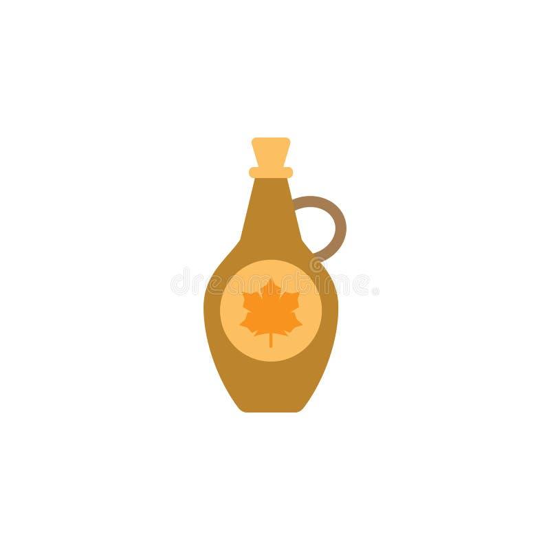 Sirap lönnsymbol Beståndsdel av den internationella matsymbolen för färg H?gv?rdig kvalitets- symbol f?r grafisk design tecken oc vektor illustrationer