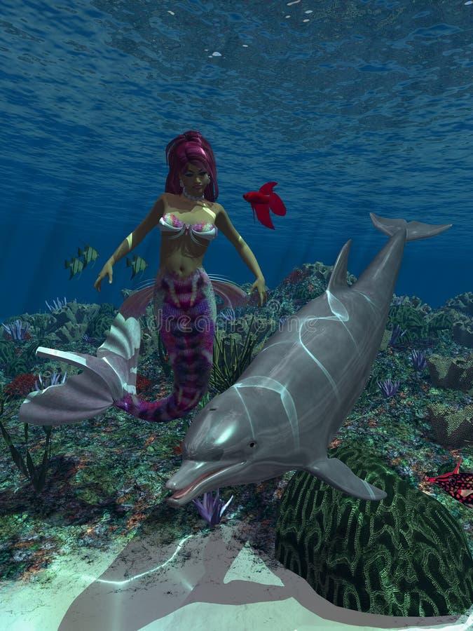 Sirena 1 ilustración del vector