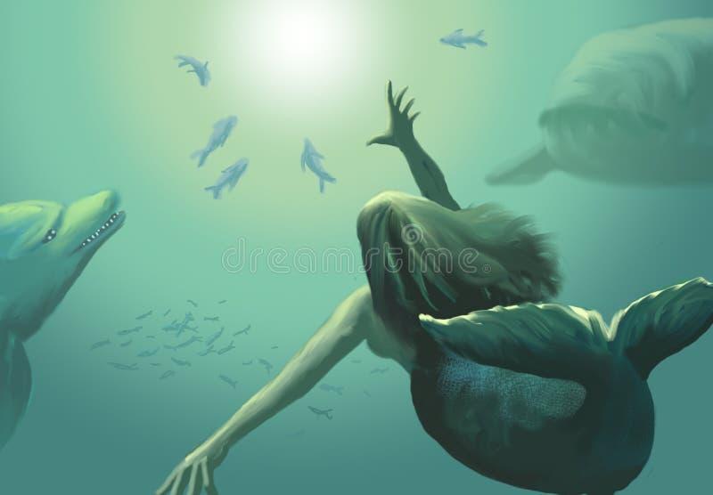 Sirena imagen de archivo
