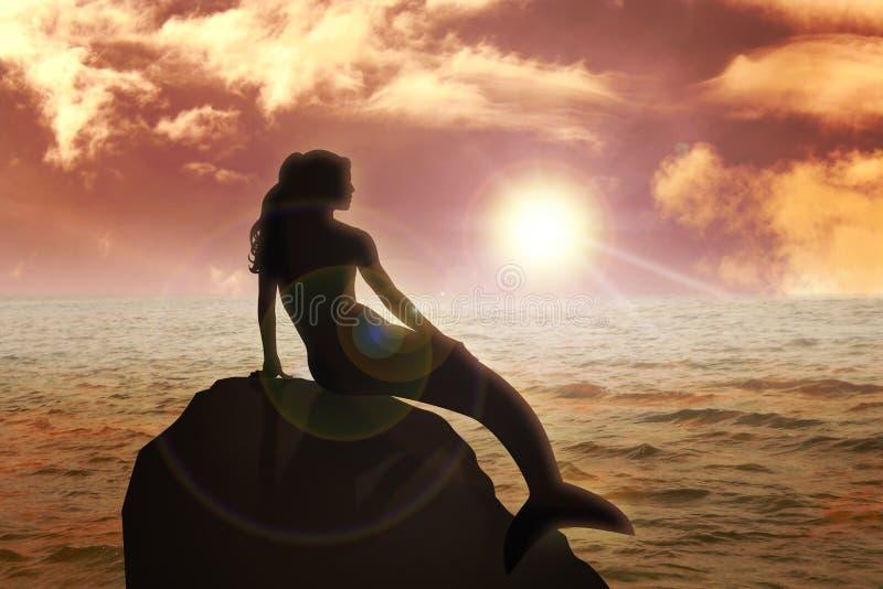 Sirena illustrazione vettoriale