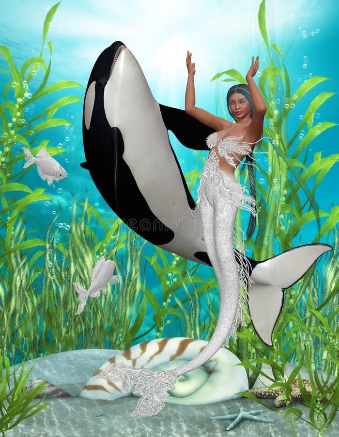Sirena 3 libre illustration