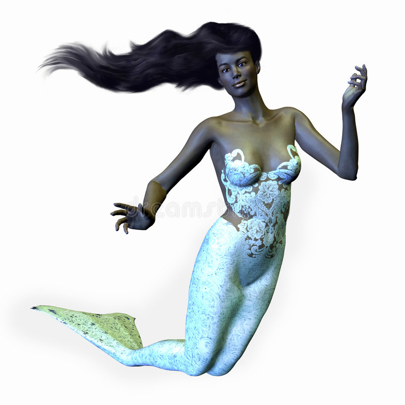 Sirena africana libre illustration