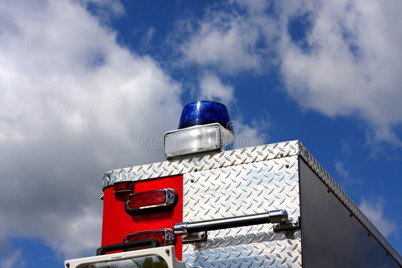 Sirena de la ambulancia imagen de archivo