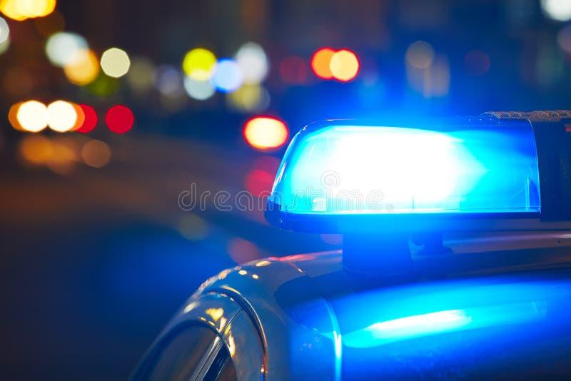 Sirena de policía fotografía de archivo