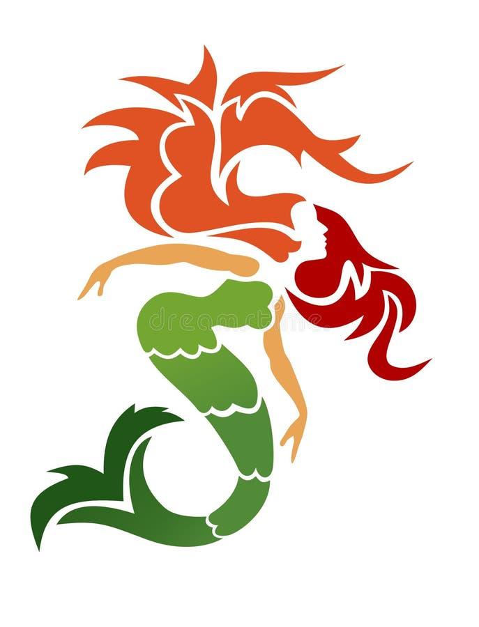 Sirene vector illustratie
