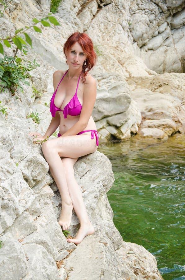 Sirene bonita foto de stock royalty free