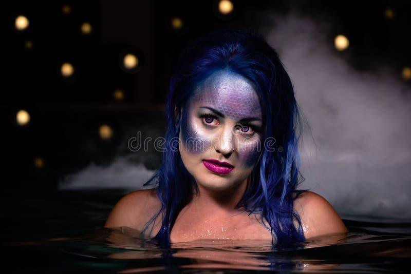Sirene della notte fotografia stock