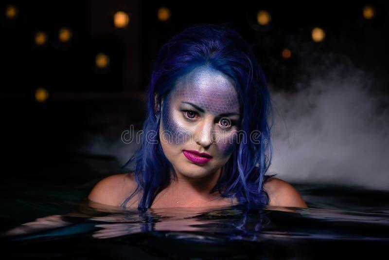 Sirene della notte immagini stock