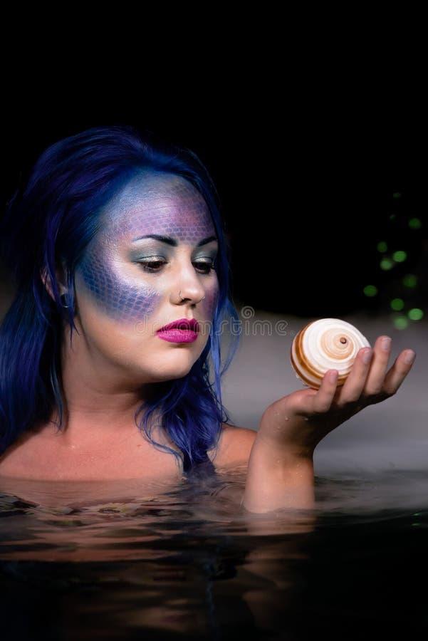 Sirene van de Nacht royalty-vrije stock fotografie