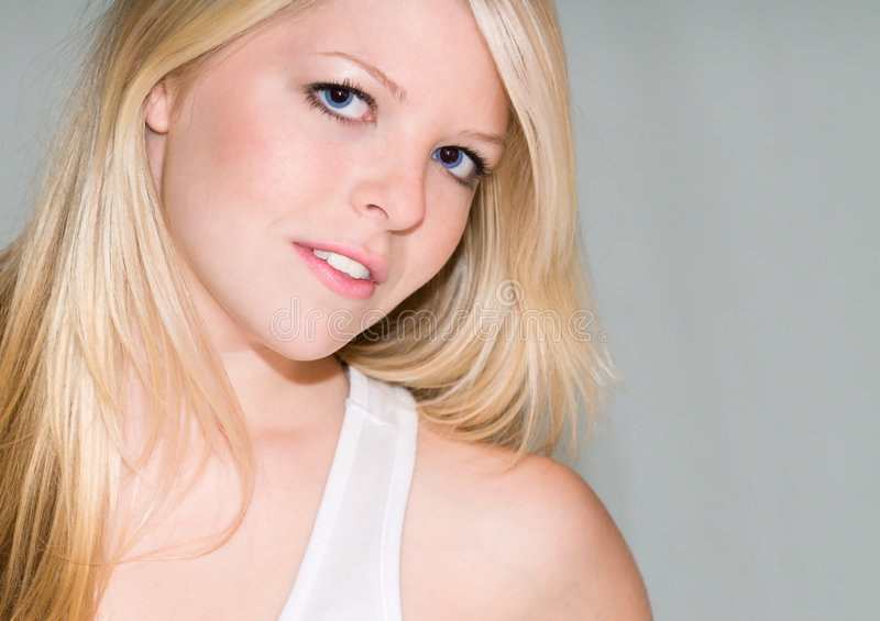 Download Sirens Song stock image. Image of sensual, lashes, caucasian - 7398859