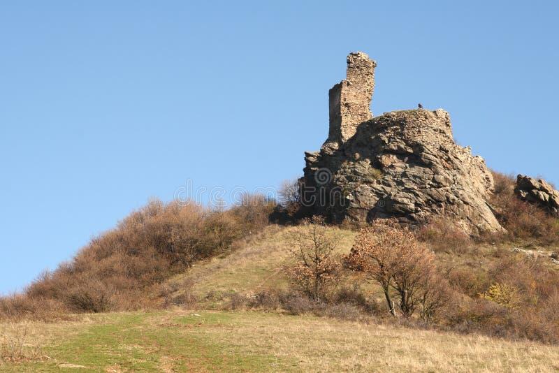 Siria fortress, Romania royalty free stock images