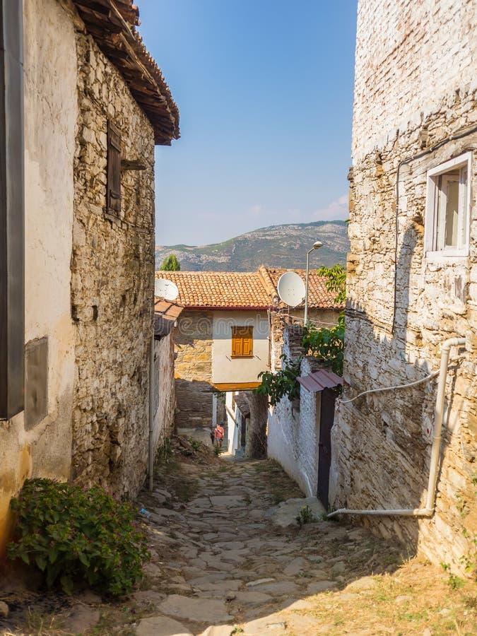 Sirince Greek village in Turkey. stock photos