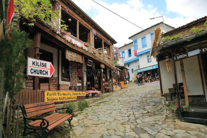 Sirince i Turkiet royaltyfria bilder