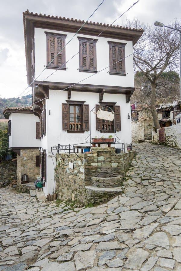 Sirince Village in Turkey royalty free stock image