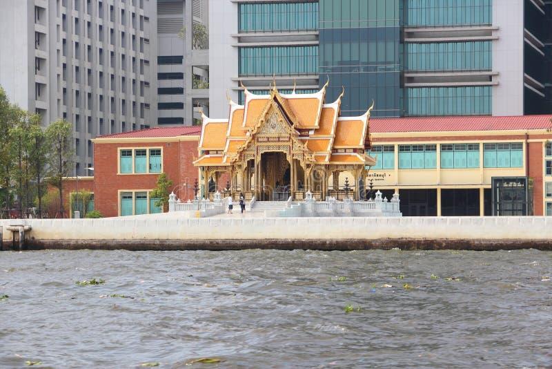 Siriraj医院,曼谷 库存图片